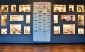 The Eye Group eyeglasses display