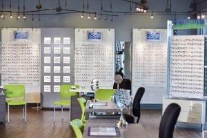 The Eye Group glasses showcase